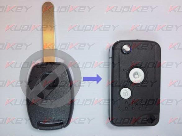 Honda 2 кнопки, 3G корпус выкидного ключа [hon-k05]