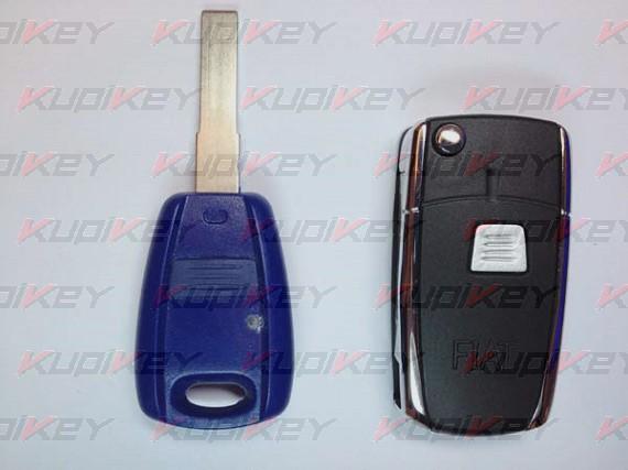 Выкидной ключ Fiat 1 кнопка [fiat-k07]